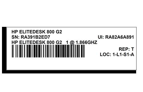 3 x 1 Barcode