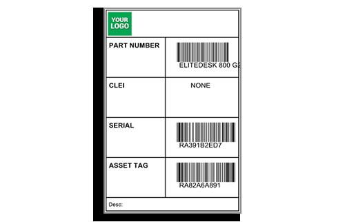 4 x 6 Barcode